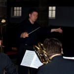 Tim Jansa conducting students at the Musikhochschule Nürnberg, Germany (2009)